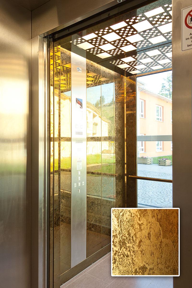 Aufzug Seniorenhaus Bernstein Deutschneudorf Struktur