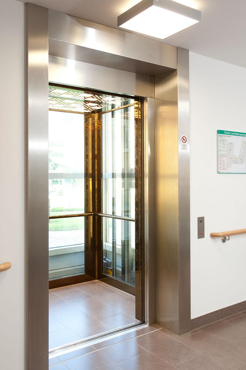 Aufzug Seniorenhaus Bernstein Deutschneudorf